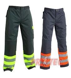 Reflexní kalhoty COLYTON do pasu ,teflonová úprava, DOPRODEJ!!!, šedo/or
