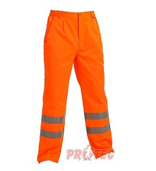 Reflexní kalhoty KOROS do pasu