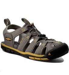 Sandále  KEEN CLEARWATER pánské gargoyle-super lemon