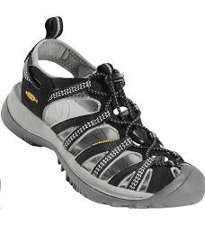 Sandál KEEN WHISPER dámský sportovní černo-šedé