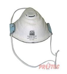 Respirátor SPIROTEK FFP2 NR,OV/AG s ventilkem 702433
