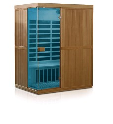 Infrasauna HEALTHLAND DeLUXE Carbon 3300 Digital Color Therapy