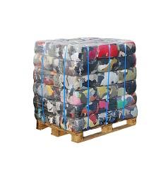 Čistící hadr - balík 10 kg - 100% Ba řezaný mix- trikot-teplákovina  (paleta 360kg nebo/