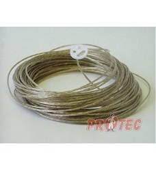 Šňůra na prádlo s ocelovým lankem 50m