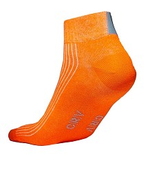 Ponožky ENIF, krátké sportovní, ve výrazných barvách s reflexním páskem CRV