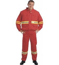 Kalhoty reflexní 81701-005, pasové s výstražnými a retroreflexivními prvky,
