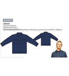 Blůza kyselinovzdorná ANTAL 3002, 65%polyester, 35%bavlna, 245g/m2,
