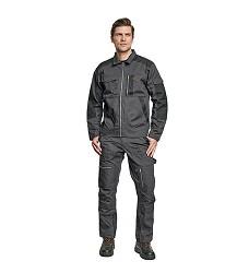 Montérková bunda JELS, OS 65%polyester, 35%bavlna, zesílené části OXFORD, 320g/m2