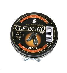 Krém na obuv CLEAN GO 40g černý, hnědý nebo neutrální v plechu