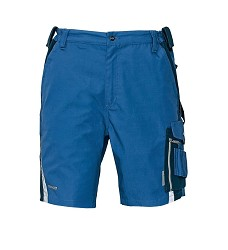 Kalhoty krátké ALLYN, šortky, 65% PES, 35% bavlna, 280g/g/m2, modro-černé