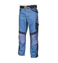 Montérkové kalhoty R8ED+02 H9710 pánské do pasu modré prodloužené 194 cm