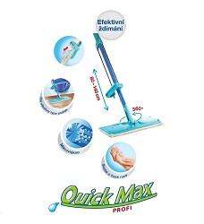 Mop QUICK MAX plochý se ždímačem