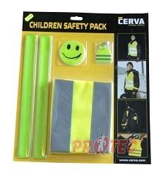 NARDA HV dětský set žlutá d. 140