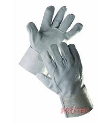 Rukavice SNIPE WINTER, celokožené, zateplené,  zesílená dlaň a palec