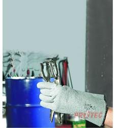 Rukavice SPONSA, tepluodolné do 250 °C, z netkané textilie s termoizolační podšívkou
