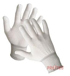 Rukavice BOOBY pletené z kadeřavého nylonu  s pružnou manžetou