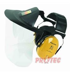 Mušlový chránič sluchu PELTOR se štítem V40FH510A-401-GU, DOPRODEJ!!!!