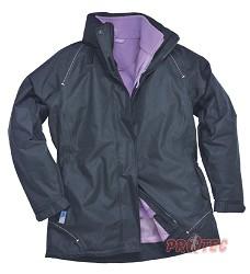 ELGIN dámská bunda 3v1, tmavě modrá