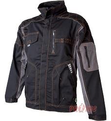 Montérková bunda VISION H9103, černo-šedá