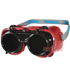 Brýle svářecí TOBA T5, sklopný zorník , tmavost 5