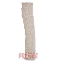 Návlek na paži  VENICUT5M, pro práci s ostrými předměty, 45cm, otvor na palec,1 kus
