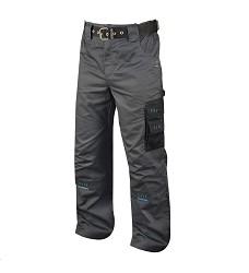 Montérkové kalhoty 4TECH 02 H9301 pánské do pasu šedo-černé
