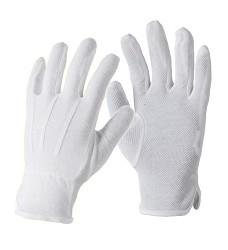 Rukavice BUDDY A9007 nylon/bavlna s PVC terčíky