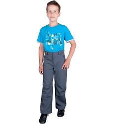 Dětské kalhoty TEDDY H2047 softshellové do pasu, zateplené