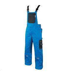 Montérkové kalhoty 4TECH 03 H9402 pánské s laclem modro-černé