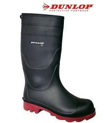 Holínky DUNLOP ECOFORT Universal, PVC černé 55310