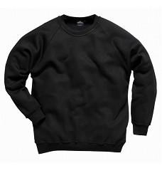 Mikina ROMA B300 polyester+bavlna 300g , navy, černá