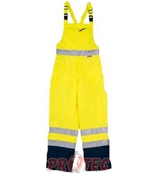 Kalhoty PATROL lacl žluté