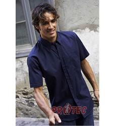 Pánská košile,krátký rukáv, 100% BA  ARIANA II