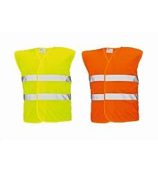 Vesta LYNX reflexní 3XL s dvěma pásky vysoká viditelnost  žlutá | oranžová