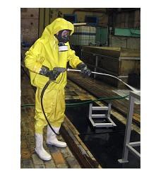 Ochranný oblek žlutý chemický SUNIT IV. FK, MANZ-VULK