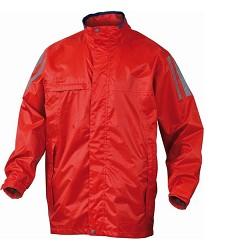 Bunda do deště KISSI, vodotěsné švy, pevná kapuce, v podpaží ventilační otvory