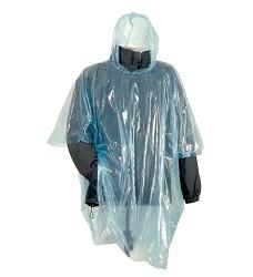 Pláštěnka BURY lehká PE,transparentní, pro opakované použití, UNI, 100% polyetylén