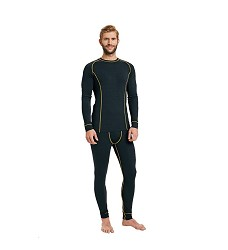 Tričko LOVELL funkční s dlouhými rukávy prodyšné, černé