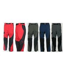 Kalhoty SHOCKING pánské sportovní 65%bavlna/35%polyester, červené / zelené / modré / šedé