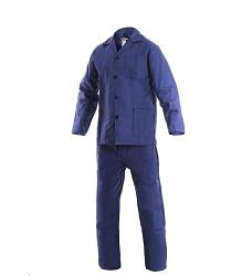 Montérková souprava JARDA 100% bavlna 240g/m2 modrá