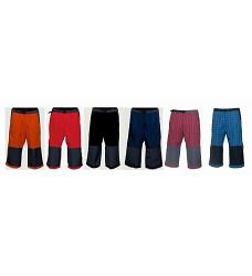 Kalhoty ALPIN 3/4 pánské 5% bavlna + 65% polyester mix barev