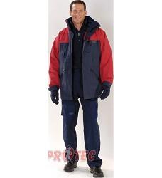 Bunda  zimní ALASKA PES červená, 2v1, 3M thinsulate zateplená podšívka