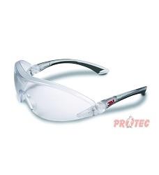 Brýle čiré 3M 2840, pevný polykarbonátový zorník, chránič obočí