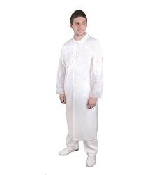 Plášť STEVE H4043 vel. uni 10 ks/balení bílý