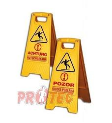 Tabule - výstraha Pozor kluzká podlaha 938000 East