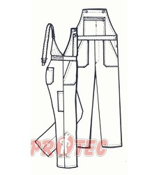 Mont�rkov� kalhoty p�nsk� lacl MARKO VS 194cm s neho�lavou �pravou