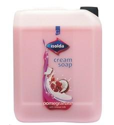 Mýdlo tekuté krémové 5l ISOLDA granátové jablko - růžové