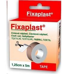 Náplast fixační páska  Fixaplast 1,25cm x 5m