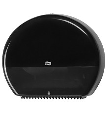 TORK 554008 zásobník na toaletní papír velký černý