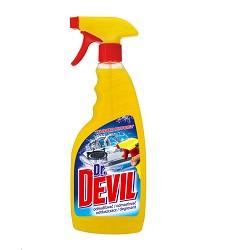 Dr.DEVIL Turbo effect odstraňovač mastnoty 750 ml/12 s rozprašovačem